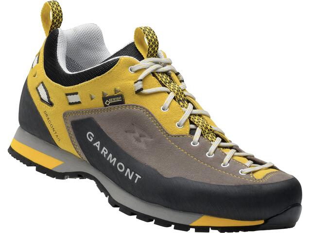 Garmont Dragontail LT GTX Shoes Men anthracite/yellow